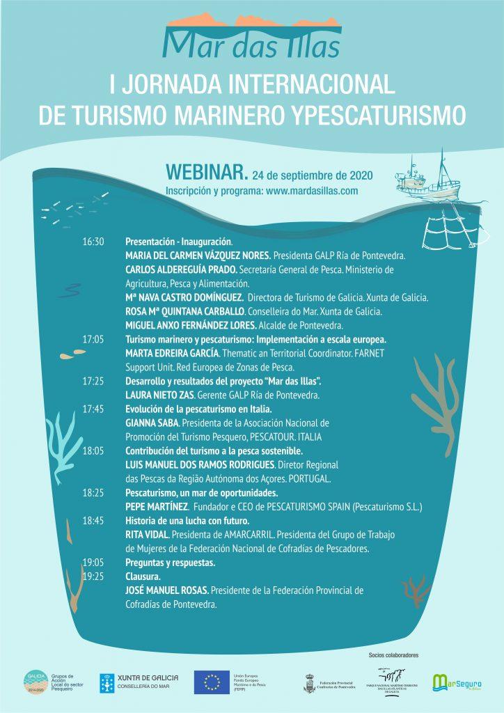 Pontevedra acoge la I Jornada Internacional de Turismo Marinero y Pescaturismo