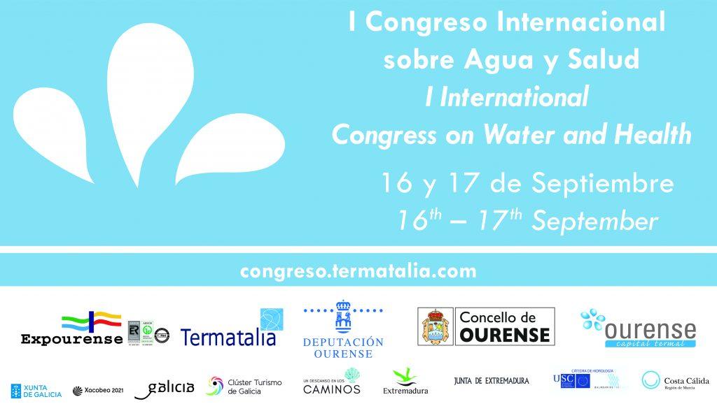 El Congreso Internacional sobre agua y Salud organizado por Termatalia 2020 supera ya los 300 inscritos