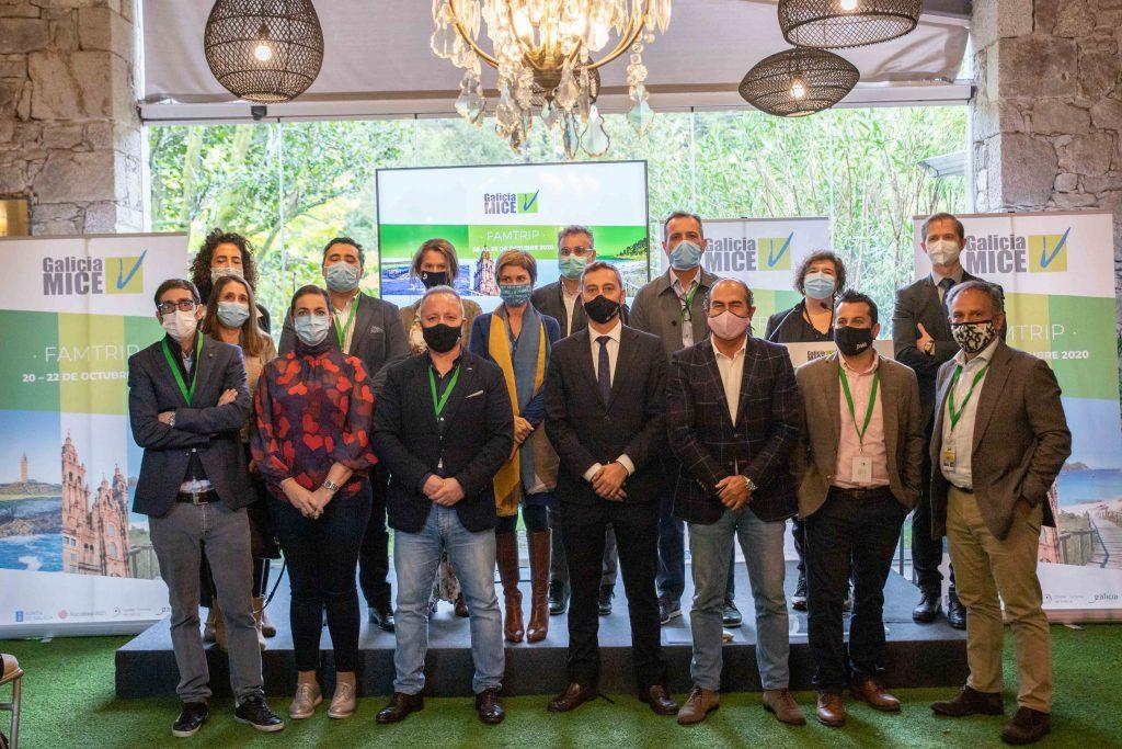 Profesionales de viajes de incentivos visitan Galicia dentro del programa Galicia MICE