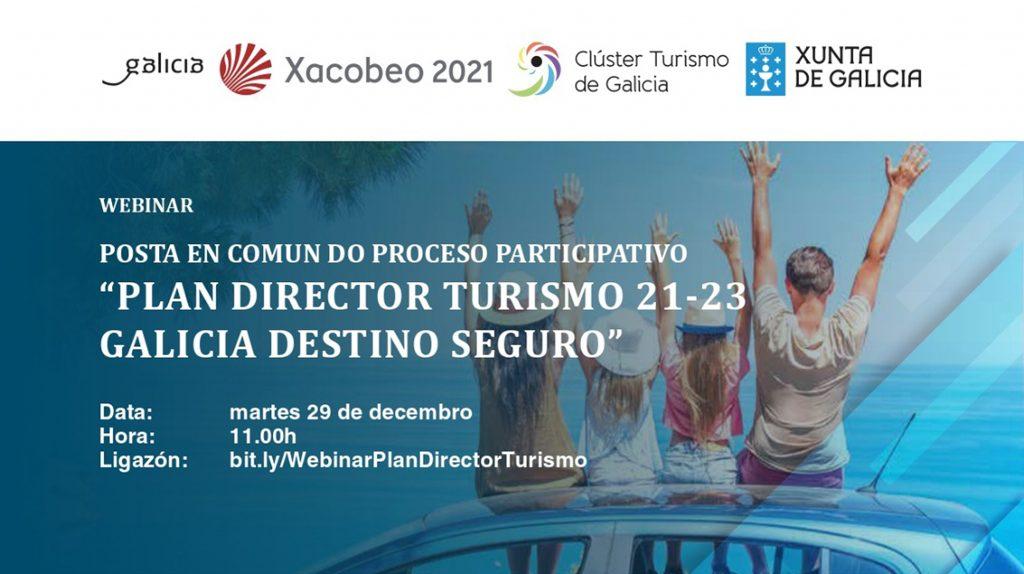 Posta en común das achegas para o Plan Director de Turismo de Galicia 2021-2023